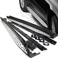 For 07-12 Benz GL-Class X164 Aluminum Running Boards Pair Set Side Step OE Style