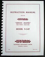 STARK model 9-54T Service-Master Manual