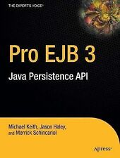 NEW Pro EJB 3: Java Persistence API (Expert's Voice in Java) by Mike Keith