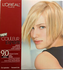L'Oreal Couleur Experte Expert Multi-Tonal Hair Color LIGHT BLONDE #9.0 COOL.