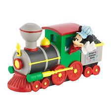 DEPT 56 DISNEY MICKEY'S CHRISTMAS VILLAGE MICKEY'S HOLIDAY TRAIN ENGINE