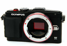 Olympus Lite E-PL6 PEN mirrorless digital SLR camera *black *mint *warranty