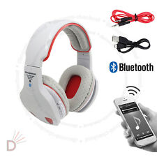 New Grey Multi Function LED Bluetooth Wireless TF MIC Hands-free Headset UKDC