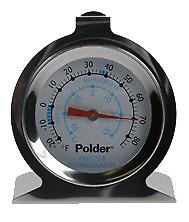Dial Fridge Freezer Hanging or Free Standing Thermometer