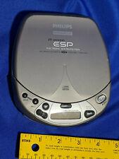 Philips Magnavox AZ7433/17 Portable CD Player ESP Skip Protection Car Jogging