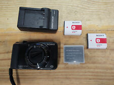 Sony Cyber-shot DSC-H90 16.1MP Digital Camera - Black
