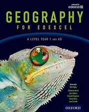 Geography for Edexcel A Level Year 1 and AS Student Book, Paperback, OUP Oxford