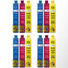12 C/M/Y Cartuchos de tinta para EPSON WORFORCE wf-3520dwf wf-7525 Pro wf-7015