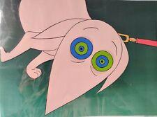 Family Dog Original Animation Production Cel & Copied Background w/ COA JONAH