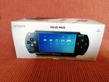 Sony PSP 1000 Value Pack Schwarz Handheld-Spielkonsole