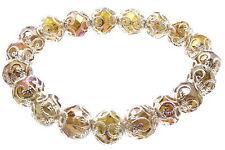 Modeschmuck-Armbänder aus Glas mit Kristall