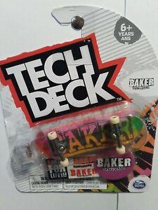 Tech Deck Baker Skateboards Fingerboard Ultra Rare Brand New NIP