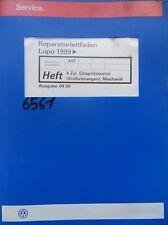 Werkstattbuch Reparaturleitfaden VW Lupo Einspritzmotor Mechanik #6561