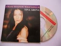 Tina Arena  / i want to know what love is - cd single