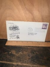 Bath Iron Works Commemorative First Day Of Issue Stamp & Envelope 1957!