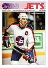 1989 Winnipeg Jets Home vs Detroit Red Wings NHL Hockey Program #90