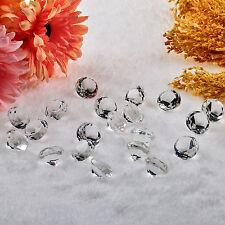 H&D 20x Kristall Kristall Glas Diamant Kristall Deko Glasdiamant Hochzeit 20mm