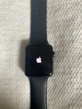 Apple Series 3 130688 GPS Space Aluminum Case Watch - Black