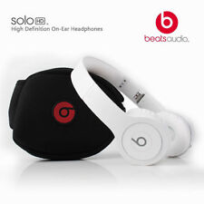 Beats by Dr. Dre Solo HD Headband Headphones Monochromatic WHITE