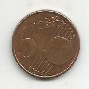 BELGIUM 5 EURO CENT 2010