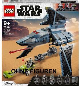 LEGO Star Wars 75314 - Angriffsshuttle aus The Bad Batch OHNE FIGUREN