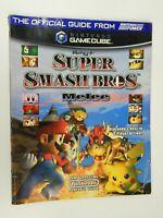 Super Smash Bros Melee Nintendo Official Strategy Guide for GameCube 2001