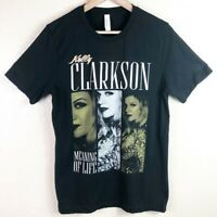 Kelly Clarkson Women's Medium 2019 Meaning of Life Tour Merchandise T Shirt