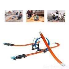Hot Wheels Kids Toy Workshop Track Builder Starter Kit Play Set Connectors
