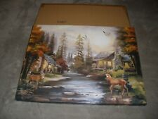 New (other) Lighted  Fall Cabin Canvas Print 17
