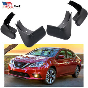 Car Mudguard Mud Flaps Splash Guards Fender for Nissan Sentra Sedan 2013-2019