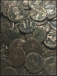 Genuine Ancient Roman Coins (cleaned)