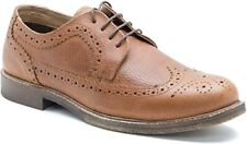 Redtape Hombres Caballeros Smart Casual Con Cordones Miel Cuero Clásico Cuero Calado Zapatos 11