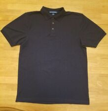 Nwot-Boys Port Authority Navy Blue Polo Shirt-School Uniforms-Size L