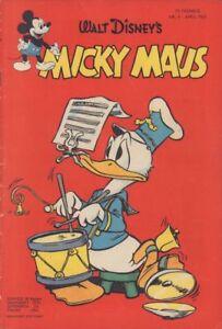 Micky Maus Nr. 4 1953, Original