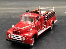 FIRST GEAR 1957 International R-190 Fire Truck Engine Company No. 1 1:34 19-1222