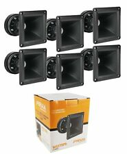 6x PRV Car Audio 900W 8-Ohms Tweeter / Horn Driver DT175Ph-S and WG11-25