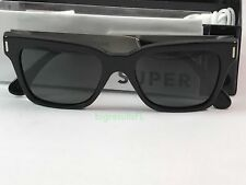 New Super Retrosuperfuture 771 America Francis Black Silver Sunglasses Size 51mm