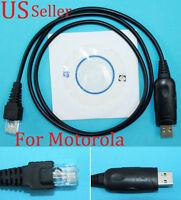 USB Programming Program Cable For Motorola Mobile Radio CM200 CM300 PM400 GM140