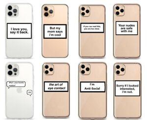 iPhone SE 7 8 X XS XR 11 Pro 12 Pro Schutz Hülle Handy Cover Case Tasche Motiv