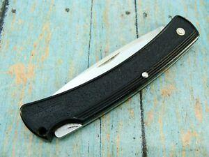 VINTAGE BUCK USA 424 BUCKLITE LOCKBACK FOLDING HUNTER POCKET KNIFE KNIVES TOOLS