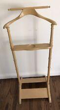 Vintage Wood Men'S Butler Valet Suit Hanger Stand