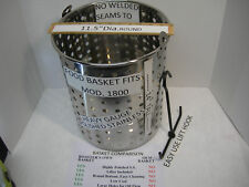 Food Basket Replacement Fits Broaster Model 1800 All Stainless Steel. W/ Lifter