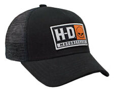 Harley-Davidson Mens Embroidered H-D Willie G Skull Baseball Cap, Black BCC04330