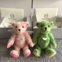 "F/S Steiff × "" Card Captor Sakura "" Set of 2 Limited 1,500 Teddy bear *RARE"