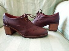 Fat Face Brown Brogue style Leather Shoes - Size 5 - worn once