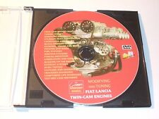 DVD WORKSHOP MANUAL - FIAT LANCIA TWIN-CAM ENGINES - MODIFYING AND TUNING
