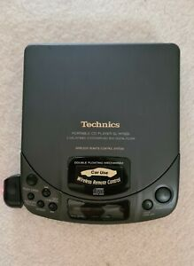 Technics Portable CD Player SL-XP 505 With Remote Control & Pouch Fully Working