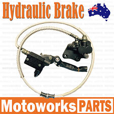 Hydraulic Front Disc Brake Caliper System + Pads 125cc 150cc PIT PRO Dirt Bike 1