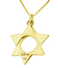 14k gold necklace with unique star of david from the YOYO32 collection by Yorini