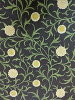 WILLIAM MORRIS CURTAIN FABRIC  SCROLL  5.3 METRES DK3568